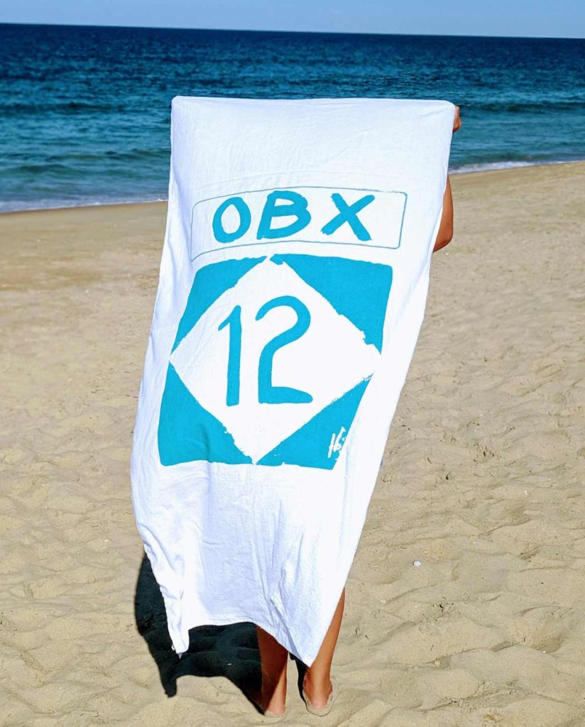 OBX Route 12 Towel